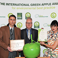 Rainin TerraRack™ wins Green Apple Environment Award