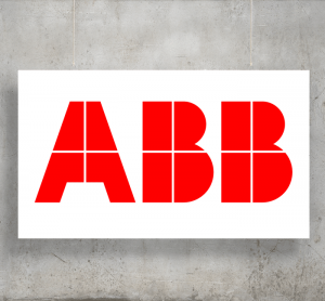 ABB Analytical Measurement logo with background