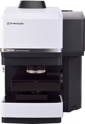 Shimadzu press release New Automated Infrared Microscope