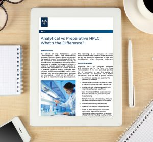 Analytical vs prephplc