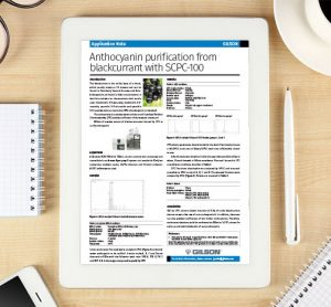 Application note: Anthocyanin purification from blackcurrant with SCPC-100