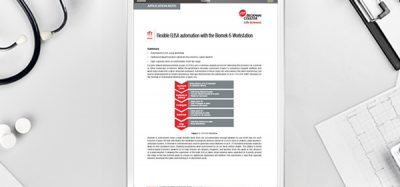 Application note: Automated ELISA Solutions