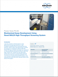 Whitepaper: Biochemical Assay Development Using Novel MALDI High-Throughput Screening System