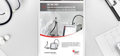 Brochure: MET ONE 3400+ Air Particle Counter
