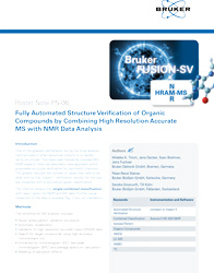 Fully Automated Structure Verification of Organic Compounds by Combining High Resolution Accurate MS with NMR Data Analysis