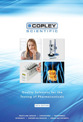 New brochure from Copley Scientific delivers essential information on its upgraded pharmaceutical testing range