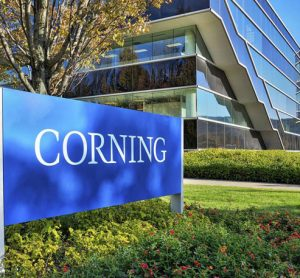 Corning headquarters logo