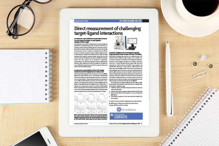 Application Note: Direct measurement of challenging target-ligand interactions