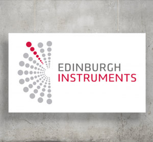 Edinburgh Instruments logo with background