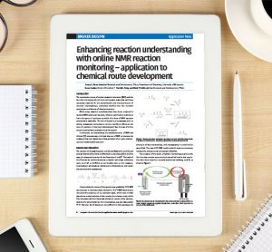 Application note: Enhancing reaction understanding with online NMR reaction monitoring – application to chemical route development