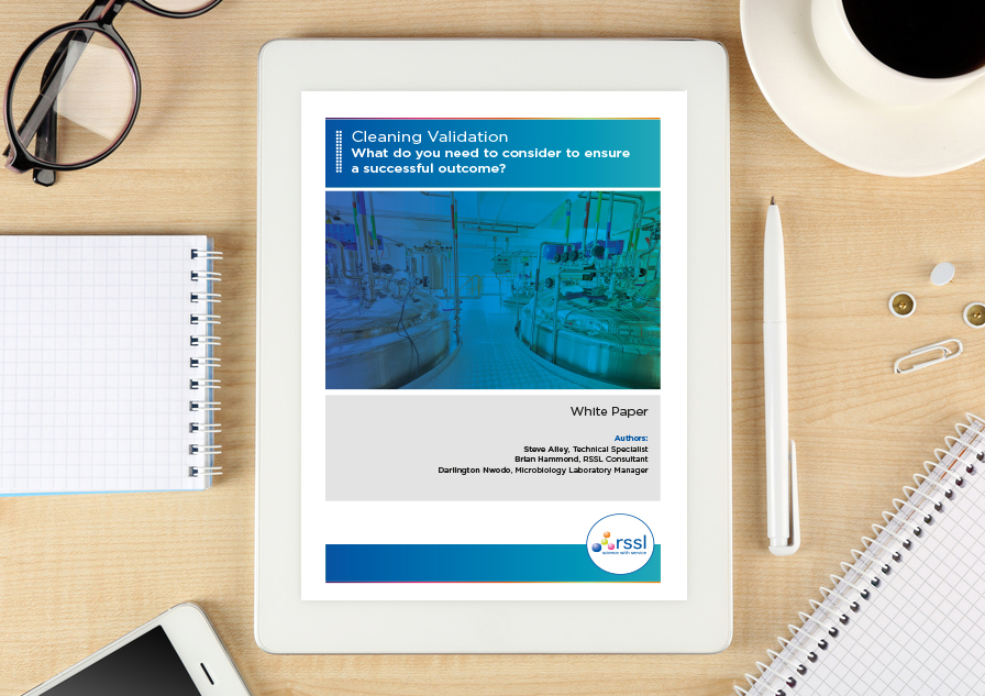 Whitepaper: Cleaning validation - what do you need to consider to ensure a successful outcome?