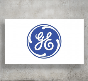 GE Analytical Instruments logo with background