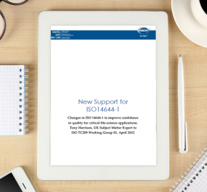 Whitepaper: New Support for ISO 14644-1