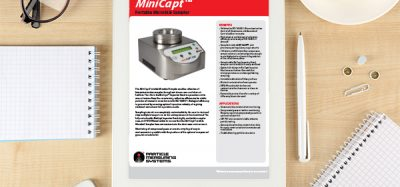 ) MiniCapt Portable Mircobial Sampler