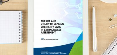 The Use And Utility Of General Chemistry Data In Extractables Assessment