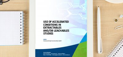 Use Of Accelerated Conditions In Extractables AndOr Leachables Studies