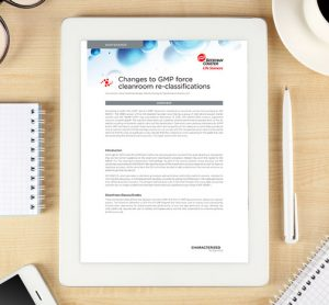 Beckman Coulter - Whitepaper: Changes to GMP force cleanroom re-classifications