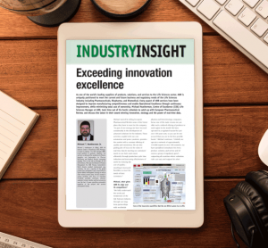 Industry Insight: Exceeding innovation excellence