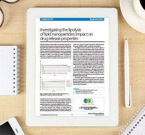 Application note: Gattefossé SAS - Investigating the lipolysis of lipid nanoparticles: impact on drug release properties