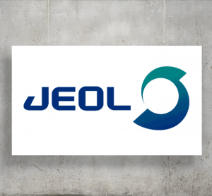 Jeol logo with background