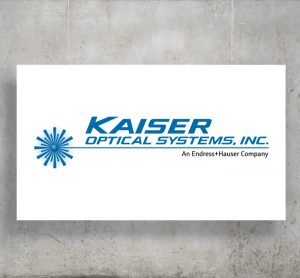 Kaiser Optical Systems logo with background