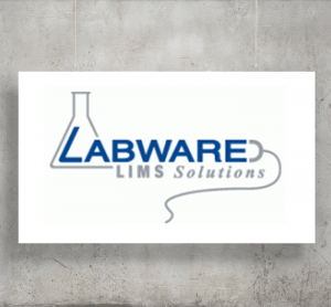 Labware LIMS Solutions logo with background