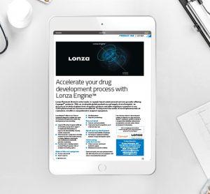 Lonza product hub
