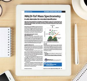 Application Note: MALDI-ToF Mass Spectrometry - A valid alternative for microbial identification