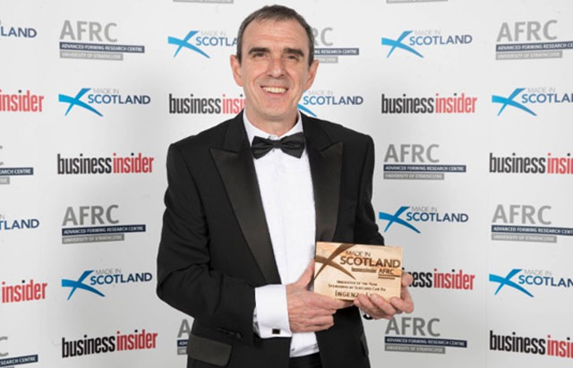 Ingenza enjoys success at the Made in Scotland awards