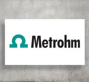 Metrohm logo with background