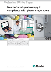 Whitepaper: Near-infrared spectroscopy in compliance with pharma regulations