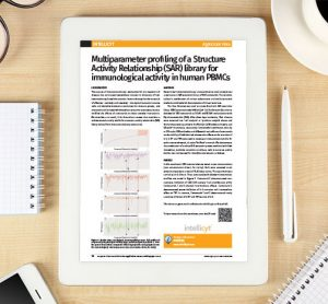 Application Note: Multiparameter profiling of a Structure Activity Relationship (SAR) library for immunological activity in human PBMCs