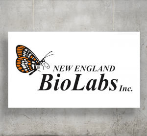 New England Bio Labs logo with background