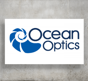 Ocean Optics logo with background