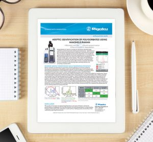 Application note: Aseptic identification of polysorbates using handheld Raman