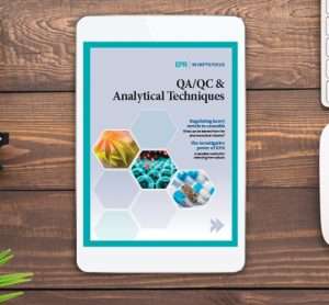 QA/QC and Analytical techniques IDF
