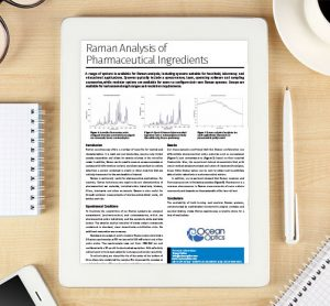 Application note: Raman Analysis of Pharmaceutical Ingredients