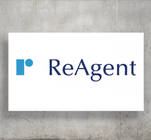 ReAgent logo with background