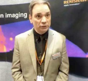 Richard Bormett, Business Manager, Renishaw at Pittcon 2014