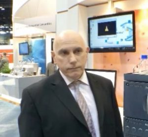 Richard Ladd, Senior Director Pharmaceutical Operations, Waters at Pittcon 2014
