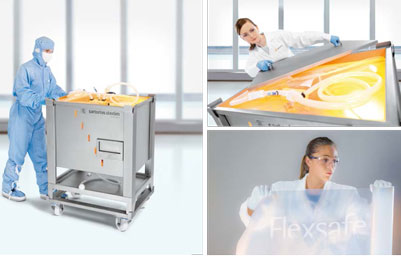 Sartorius Stedim Biotech launches Flexsafe® 3D Pre-Designed Solutions for storage and shipping applications