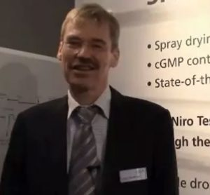 Søren Terp Madsen, Area Sales Manager and Product Manager, Chemical Division – Pharma Spray Drying, GEA Niro at CPhi 2014
