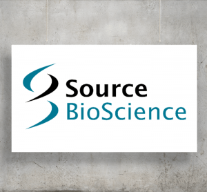 Source BioScience logo with background