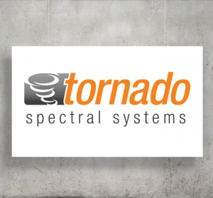 Tornado Spectral Systems logo with background