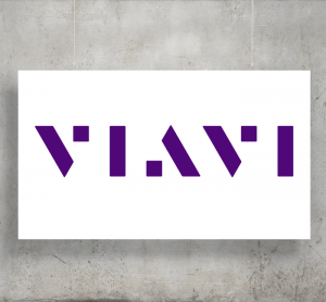 Viavi logo with background