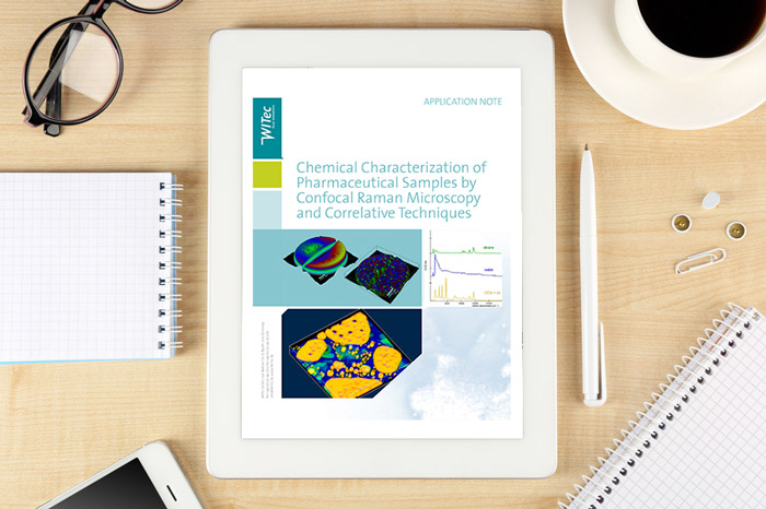 Chemical characterization of pharmaceutical samples by Confocal Raman Microscopy and correlative techniques