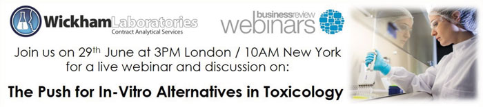 Wickham Laboratories announces upcoming webinar on In-Vitro Alternatives