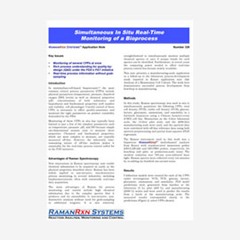 Whitepaper: Simultaneous in situ real-time monitoring of a bioprocess