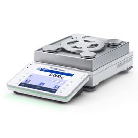 METTLER TOLEDO XPE6003SD5 balance SmartPan 45 degree