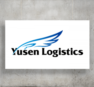 Yusen Logistics logo with background